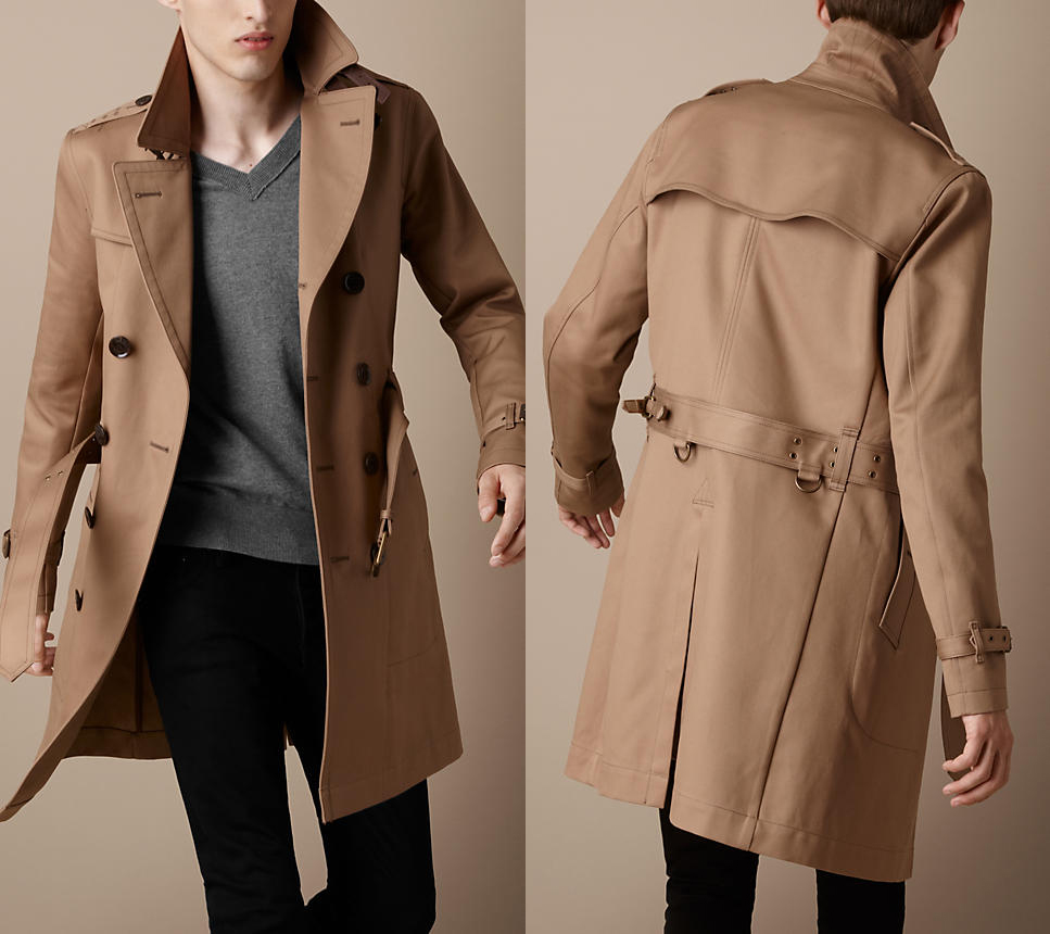 Trench Coat Pour Homme L Indispensable