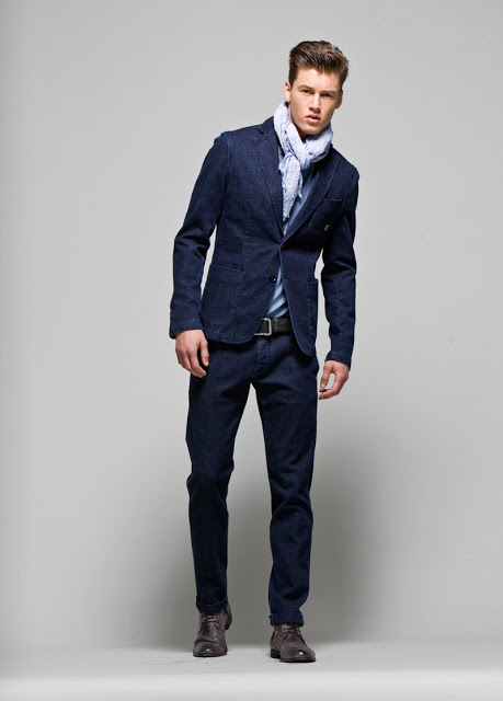 Pantalones Entubados Para Hombre De Vestir